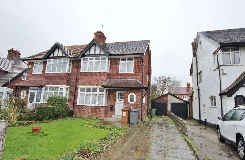 3 Bedrooms Semi Detached House for sale in Woodchurch Road, Prenton, Wirral