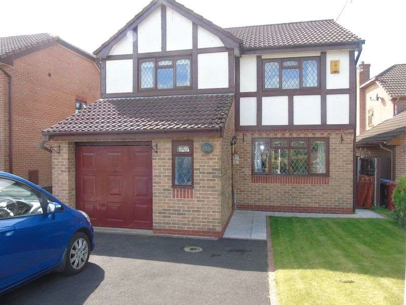 4 Bedrooms Detached House for sale in Grovewood Gardens, Prescot