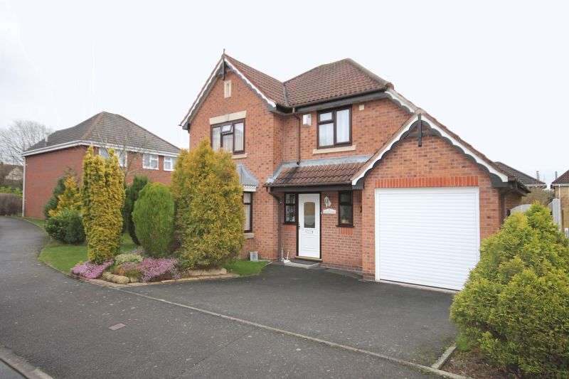 4 Bedrooms Detached House for sale in Aralia Close, Telford