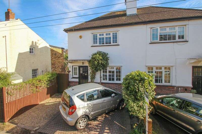 2 Bedrooms Semi Detached House for sale in Grove Footpath, Surbiton