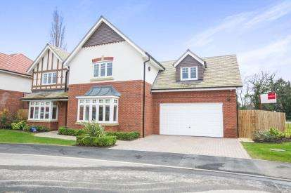 5 Bedrooms Detached House for sale in Bletchley Park Way, Wilmslow, Cheshire