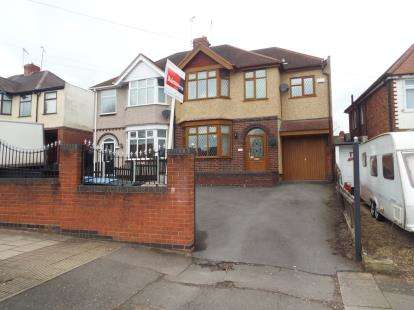4 Bedrooms Semi Detached House for sale in Tile Hill Lane, Coventry, West Midlands