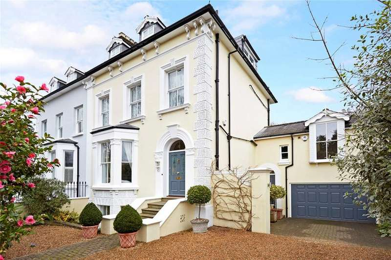 6 Bedrooms Semi Detached House for sale in Herne Road, Surbiton, Surrey, KT6