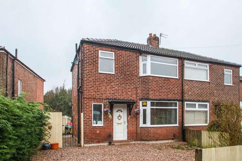 3 Bedrooms Semi Detached House for sale in Aldermere Crescent, Flixton, Manchester, M41