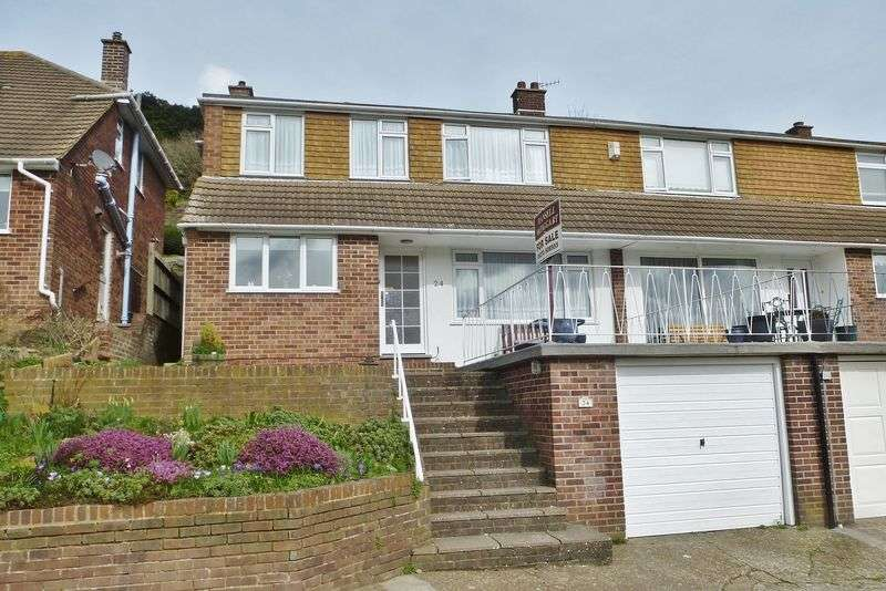 4 Bedrooms Semi Detached House for sale in Bankside, Westdene, Brighton,