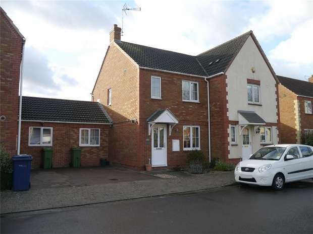 2 Bedrooms Terraced House for sale in Wigeon Lane, Walton Cardiff, Tewkesbury, Gloucestershire