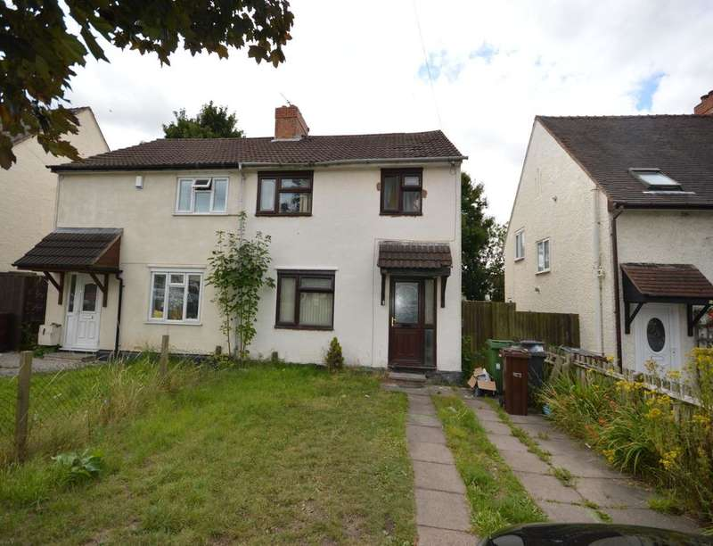 3 Bedrooms Semi Detached House for sale in Walford Avenue, Wolverhampton, WV3