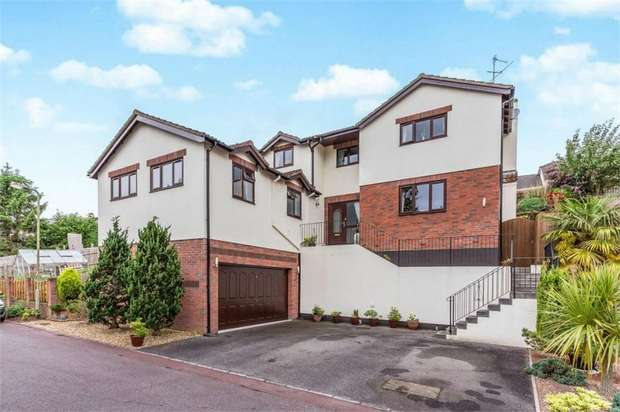 4 Bedrooms Detached House for sale in Meadow View, Ogwell, Newton Abbot, Devon