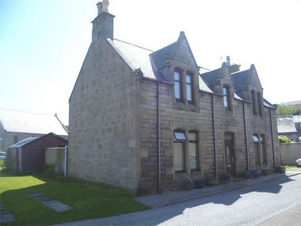4 Bedrooms Detached House for sale in Shore Street, Portgordon, Buckie, Moray