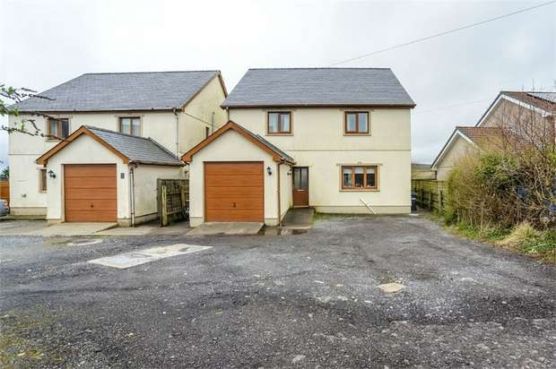 4 Bedrooms Detached House for sale in Heol Treventy, Cross Hands, Llanelli, Carmarthenshire