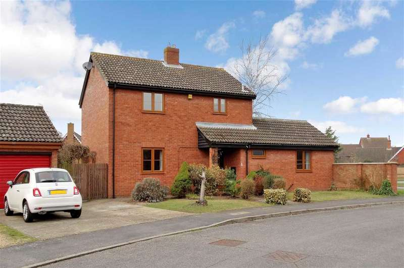 4 Bedrooms Detached House for sale in Forest Lane, Martlesham Heath, Ipswich