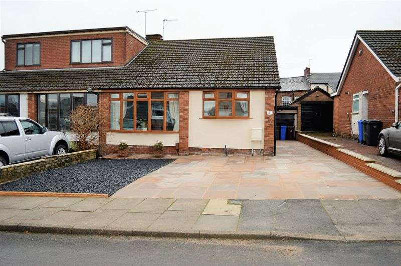 2 Bedrooms Semi Detached Bungalow for sale in Newport Road, Denton