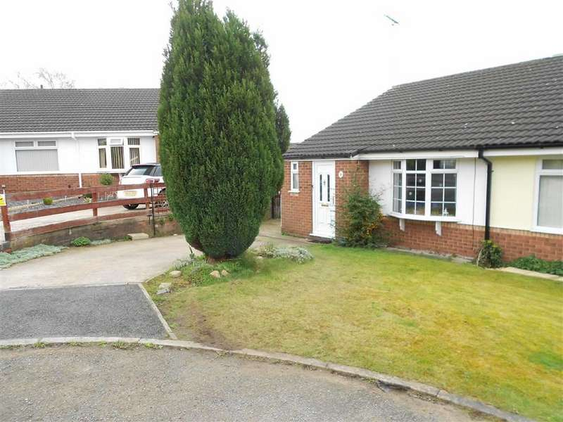 2 Bedrooms Semi Detached Bungalow for sale in Kinloch Close, Crewe, Cheshire