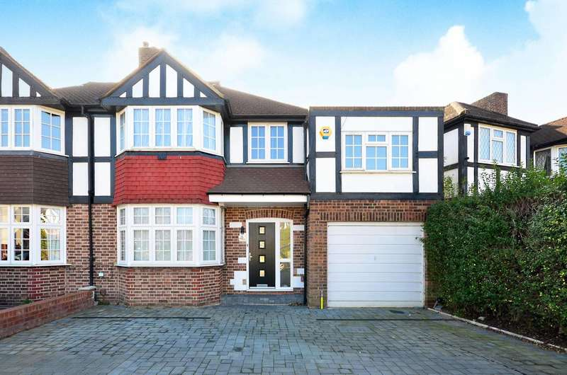 4 Bedrooms House for sale in Ancaster Crescent, Motspur Park, KT3
