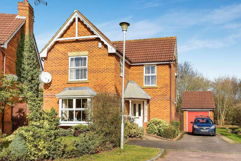 3 Bedrooms Detached House for sale in Cornwall Close, Warfield, Bracknell, RG42