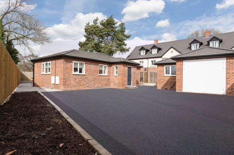 2 Bedrooms Detached Bungalow for sale in Rope Lane, Shavington, Cheshire