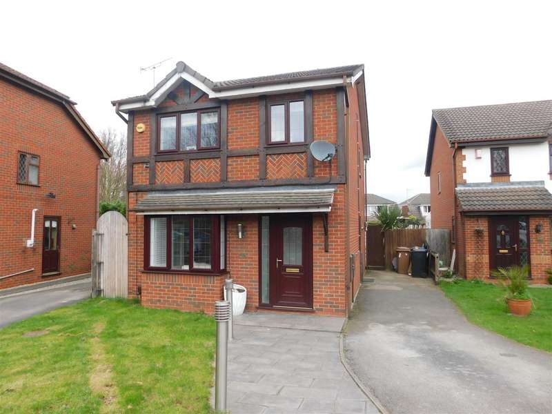 3 Bedrooms Property for sale in Elgar Drive, Long Eaton