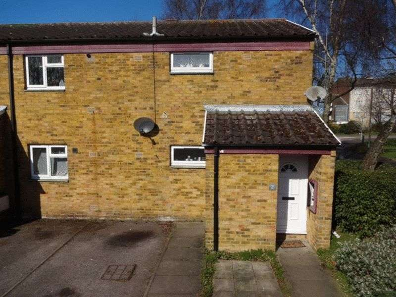 3 Bedrooms Flat for sale in Spear Close, Luton