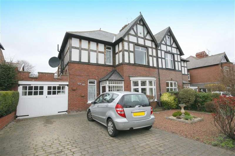 3 Bedrooms Semi Detached House for sale in Hawthorn Gardens, Whitley Bay, Tyne And Wear, NE26