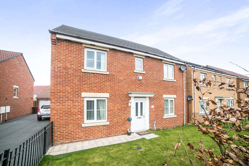 4 Bedrooms Detached House for sale in Acorn Lane, Shiremoor, Newcastle Upon Tyne, NE27
