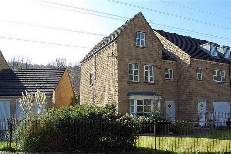 4 Bedrooms Town House for sale in Copley Drive, Copley, Halifax, HX3