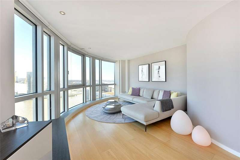2 Bedrooms Flat for sale in Ontario Tower, 4 Fairmont Avenue, London