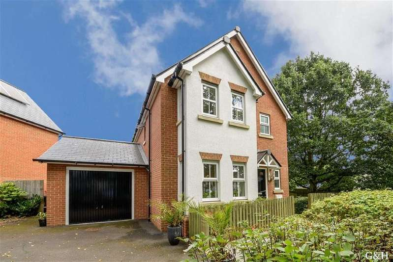 3 Bedrooms Detached House for sale in Furley Close, Kennington, Ashford
