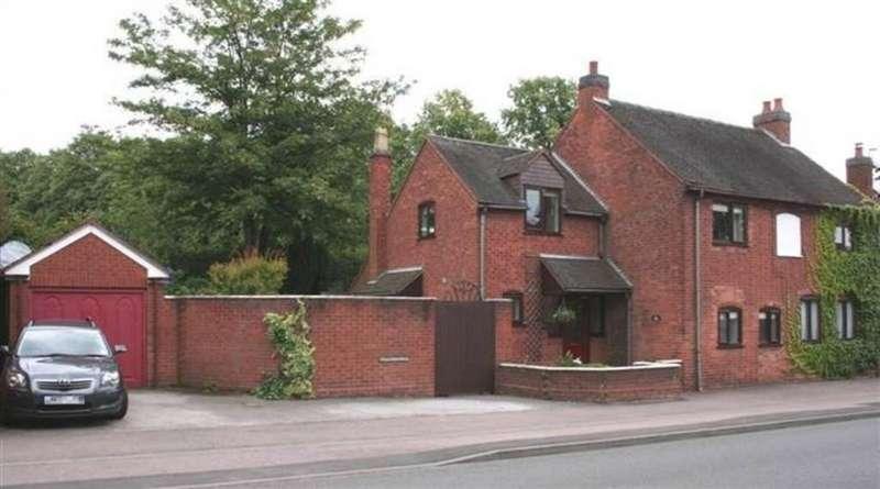 3 Bedrooms Semi Detached House for sale in Upper St. John Street, Lichfield