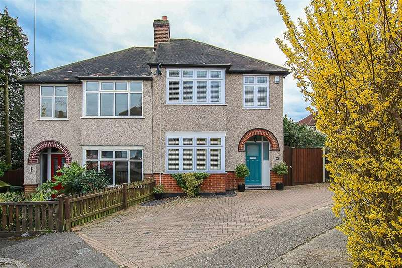 3 Bedrooms Semi Detached House for sale in Manor Way, Brentwood