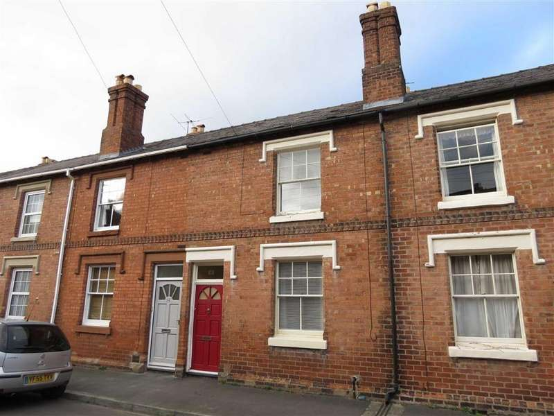 2 Bedrooms Terraced House for sale in Montague Place, Belle Vue, Shrewsbury, Shropshire