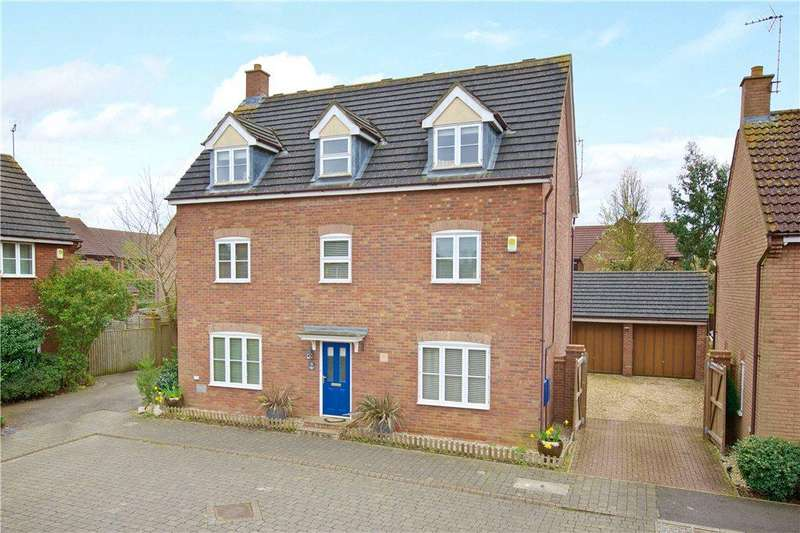5 Bedrooms Detached House for sale in Wadworth Holme, Middleton, Milton Keynes, Buckinghamshire