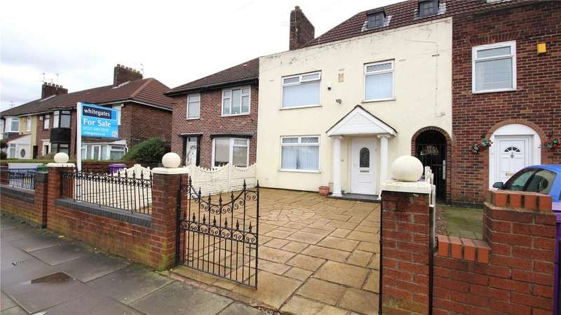 3 Bedrooms Terraced House for sale in East Prescot Road, Liverpool, Merseyside, L14