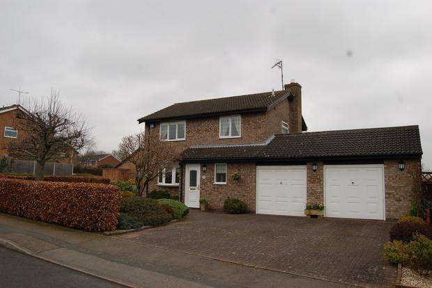 3 Bedrooms Detached House for sale in Bainbridge Road, Wigston Meadows, Leicester, LE18