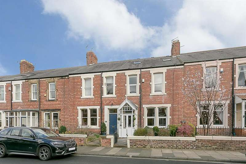 4 Bedrooms Terraced House for sale in Windsor Terrace, South Gosforth, Newcastle upon Tyne