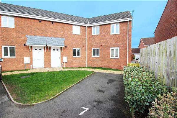 2 Bedrooms Apartment Flat for sale in Roughbrook Road, Rushall