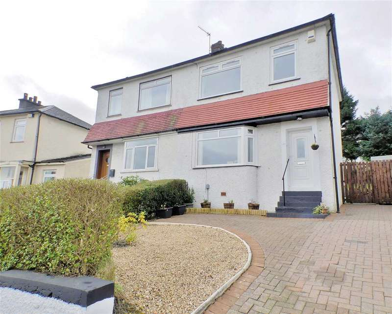 2 Bedrooms Semi Detached House for sale in Orchard Park Avenue, Giffnock, Giffnock