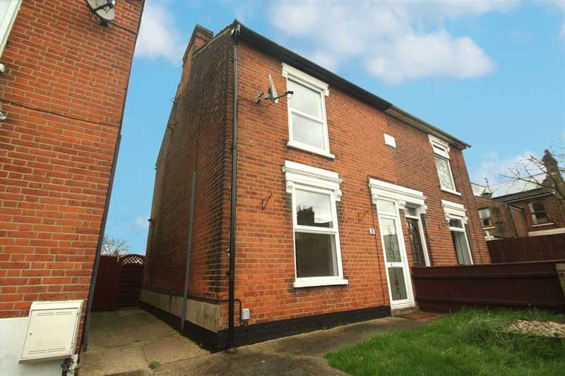 3 Bedrooms Semi Detached House for sale in Upper Cavendish Street, Ipswich