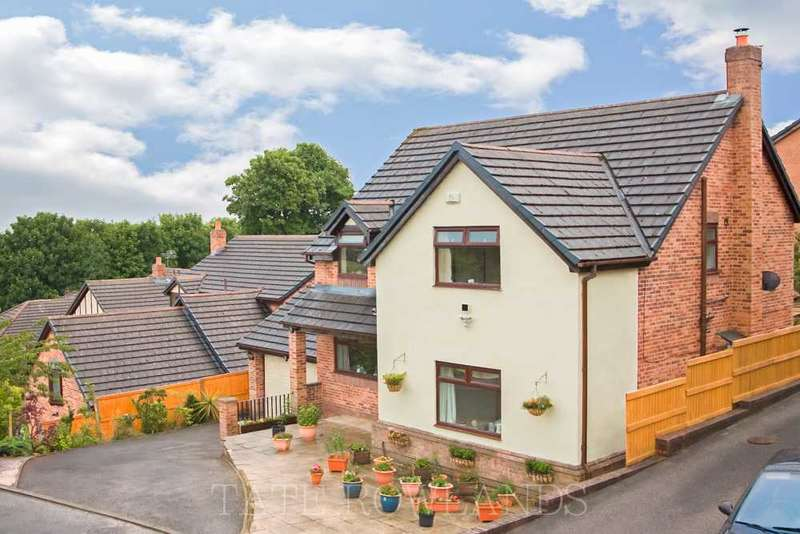 4 Bedrooms Detached House for sale in Coed Y Fron, Holywell