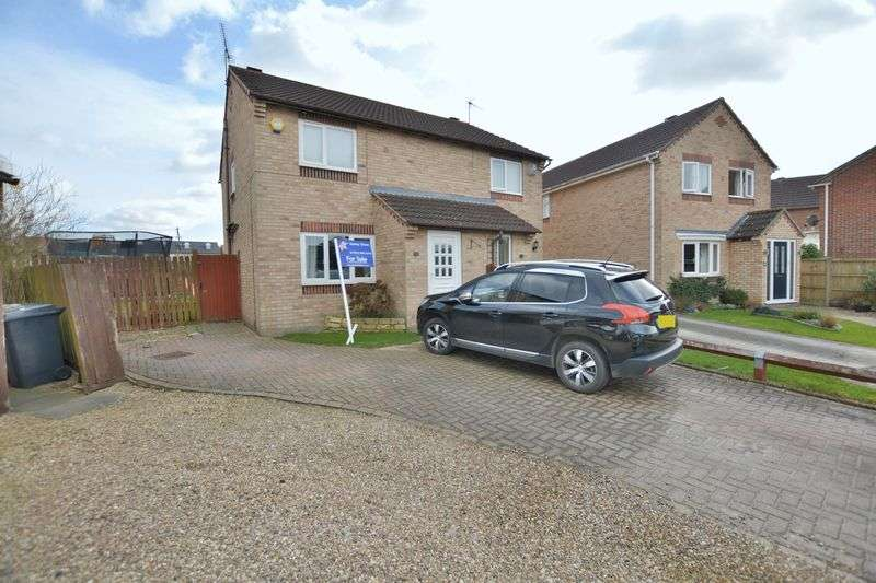 2 Bedrooms Semi Detached House for sale in Adelaide Close, Waddington, Lincoln