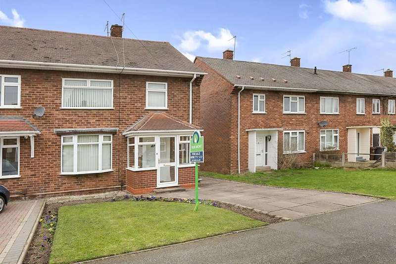 3 Bedrooms Semi Detached House for sale in Egerton Road, Wolverhampton, WV10