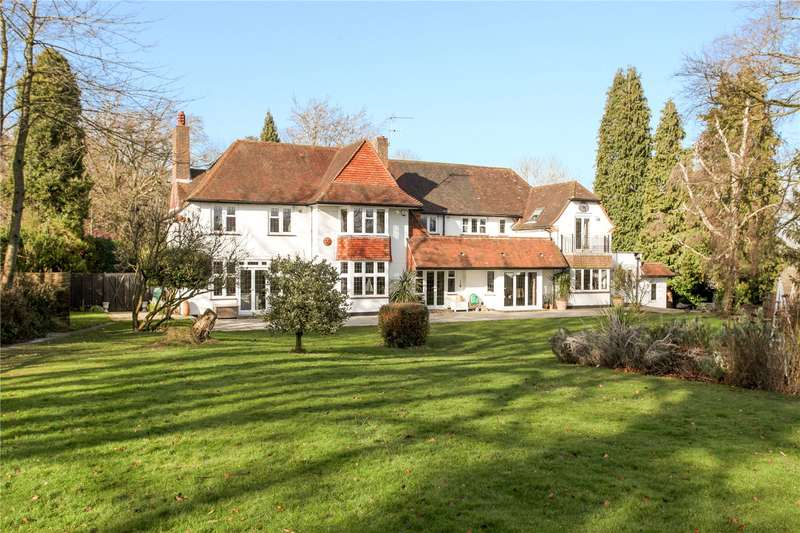 5 Bedrooms Detached House for sale in Epsom Road, West Horsley, Leatherhead, Surrey, KT24
