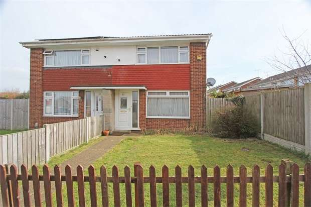 2 Bedrooms Semi Detached House for sale in Salisbury Close, Sittingbourne, Kent