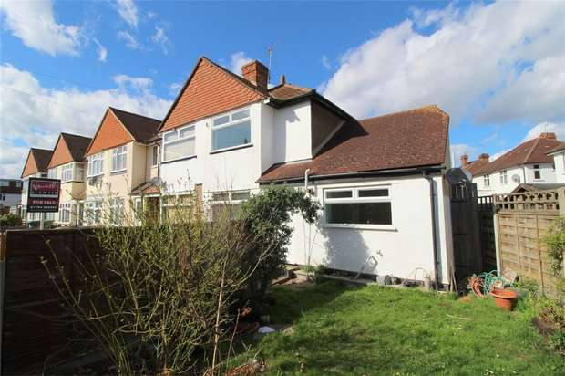 2 Bedrooms End Of Terrace House for sale in Lucie Avenue, ASHFORD, Surrey