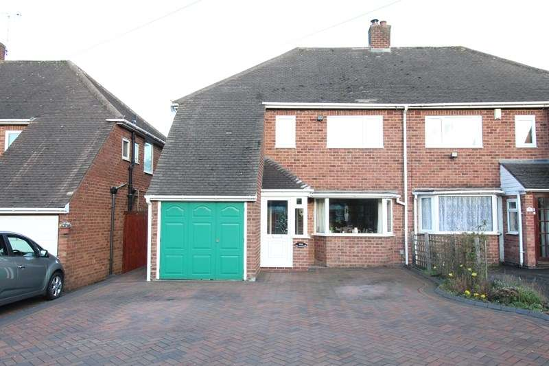 4 Bedrooms Semi Detached House for sale in Hobs Moat Road, Solihull