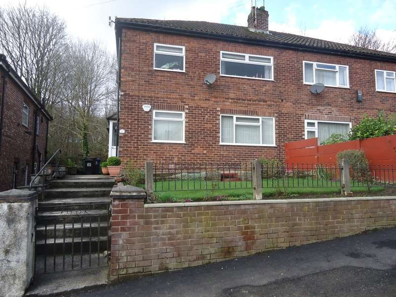 2 Bedrooms Maisonette Flat for sale in Mountside Crescent, Prestwich, M25
