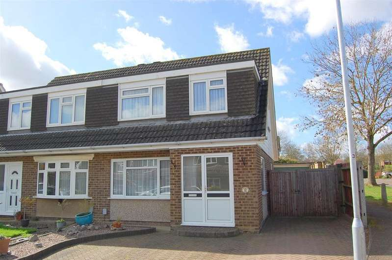 3 Bedrooms Semi Detached House for sale in Shelley Close, Hitchin
