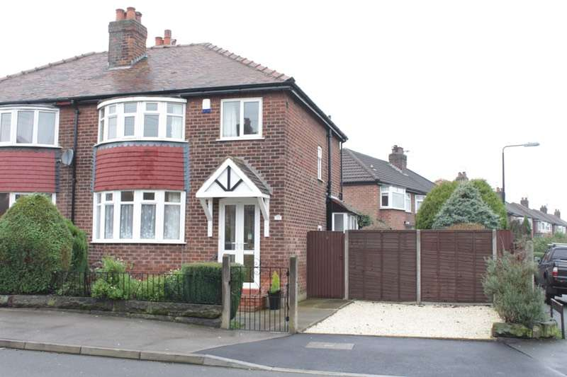 3 Bedrooms Semi Detached House for sale in Dawson Road, Altrincham, Greater Manchester, WA14