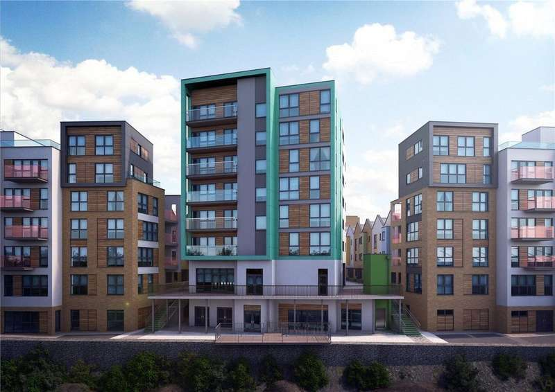 2 Bedrooms Penthouse Flat for sale in Paintworks, Arnos Vale, Bristol, BS4