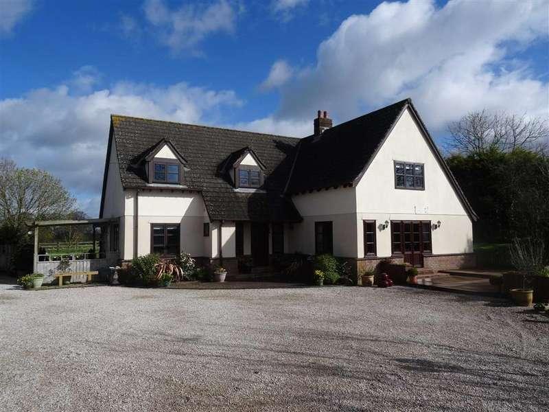 4 Bedrooms Detached House for sale in Meeth, Devon, EX20