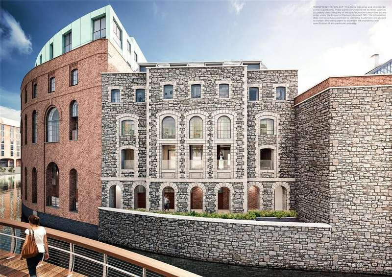 2 Bedrooms Flat for sale in Apartment 10, Cask Store, Finzels Reach, Bristol, BS1